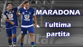 Maradona l'ultima partita