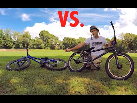 BMX vs Trials