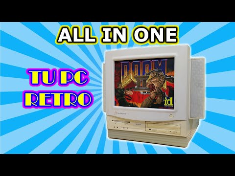 PC ALL IN ONE de 1994 el TODO en UNO RETRO: Packard Bell Spectria 607