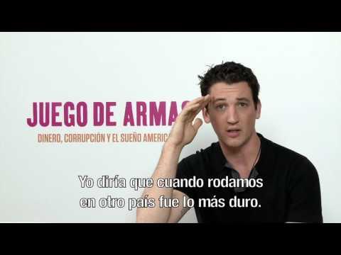 Juego de Armas - Q&A Miles Teller HD