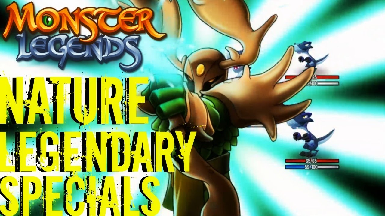 Monster Legends | All Nature Legendary Monsters Special Skills | Ultimate  Attacks