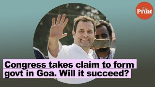 Congress stakes claim to form govt in Goa. Will it succeed?