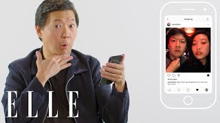 Ken Jeong Insta-Stalks His Crazy Rich Asians Castmates | Insta-Stalk | ELLE
