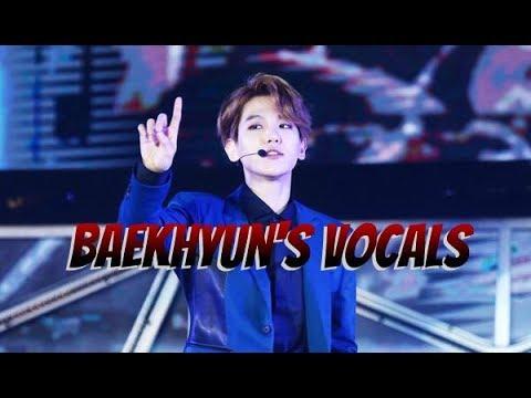 Baekhyun's vocals