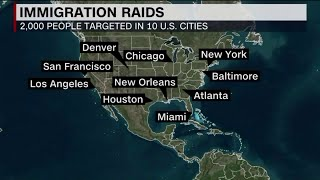 Immigration groups on guard after Trump delays sweep, says `big deportation` still likely