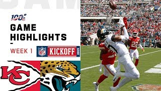 Chiefs vs. Jaguars Week 1 Highlights | NFL 2019