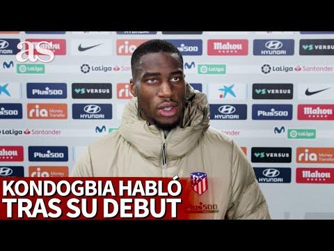 KONDOGBIA habló tras su debut con el ATLÉTICO DE MADRID | Diario AS