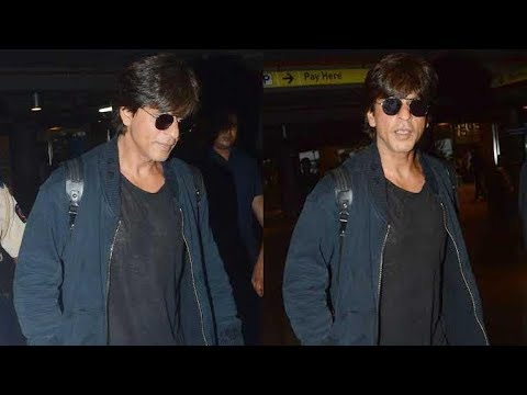 Shah Rukh Khan returns back in the city after Los Angeles vacations with family