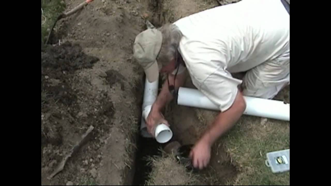 Atlantic Drain Howto Tie In Existing Clay Tile Drain