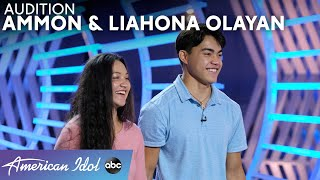 Liahona And Ammon Are Brother & Sister But Audition Separately - American Idol 2021