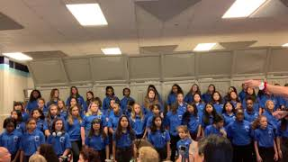 7th grade Middle School Chorus October 1, 2019 Henderson Middle