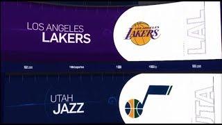 Utah Jazz vs LA Lakers Game Recap   1/11/19   NBA