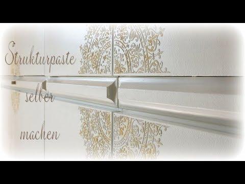 Feine Strukturpaste selber machen * DIY * Modelling Paste