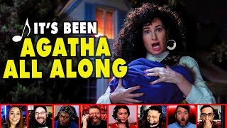 Reactors Reactions To Seeing Agatha Harkness On Wandavision Episode 7   Mixed Reactions