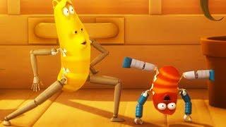 LARVA - BREAKDANCING | Cartoon Movie | Cartoons For Children | Larva Cartoon | LARVA Official