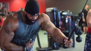 Big Dru Back + Biceps - IRON RELIGION GYM / Orlando FL