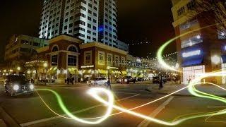 Virginia Beach Town Center (At Night)
