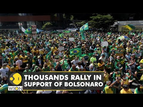 Supporters of Bolsonaro hold protest in Brazil | Independence Day | English news | WION