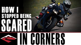 How I Stopped Being Scared 😱 in Corners on my Motorcycle