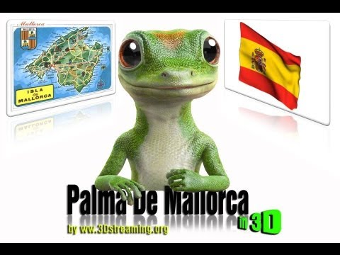 Palma De Mallorca Beach in 3D (YT3D) by 3Dstreaming.org
