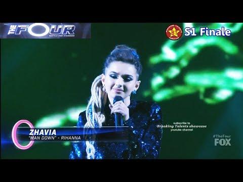Zhavia sings