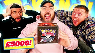 Opening a £5000 VINTAGE Pokemon Box with Zerkaa and Behzinga! *WINNER KEEPS THE CARDS*