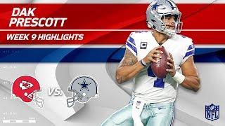 Dak Prescott's 3 TD Game vs. KC! | Chiefs vs. Cowboys | Wk 9 Player Highlights