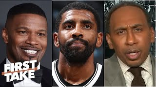 Jamie Foxx tells Stephen A. Smith on Kyrie Irving's absence hurts Durant & Nets most
