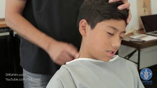 Soccer Player with Stuck Neck and Pain gets HELPED with Dr. Rahim Gonstead Chiropractor