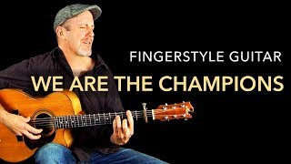 Queen - We Are The Champions (Fingerstyle Guitar Cover by Adam Rafferty)