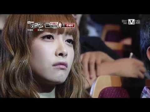120504 f(x) Krystal & Victoria @ Voice of Korea