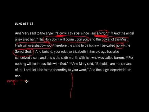 Luke 1:26–38 // Seven Reasons to Worship on Christmas