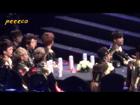 140212 The 3rd Gaon Awards - EXO - During B.A.P Part1