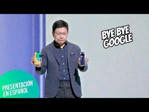 Huawei SE DESPIDE de Google con Mate 30 Pro | Presentación en español