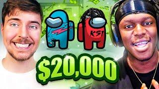 SIDEMEN $20,000 AMONG US vs MR BEAST