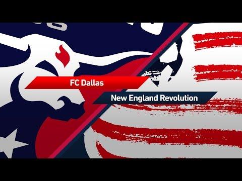 HIGHLIGHTS: FC Dallas vs. New England Revolution   March 20. 2017