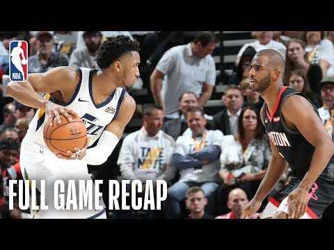 ROCKETS vs JAZZ | Donovan Mitchell Goes OFF in MONSTER 4th Quarter! | Game 4