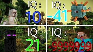 Top 5 Con Vật (Mobs) NGU NGỐC Nhất Trong Minecraft PE