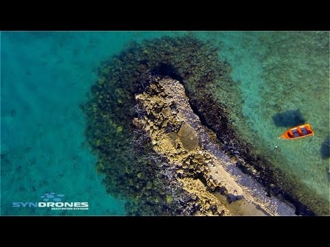 RC Drone filming on Curacao in the caribbean