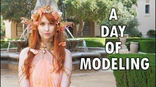 Modeling as a Koi Fish Princess!