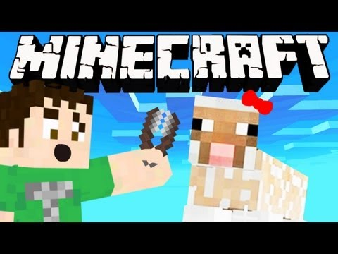 Minecraft - DIRTY NAKED SHEEP GIRL - Smashpipe Games