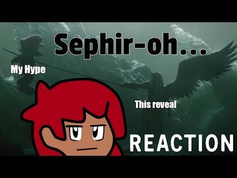 Sephir oh   DExus Reacts to Sephiroh decends to Smash