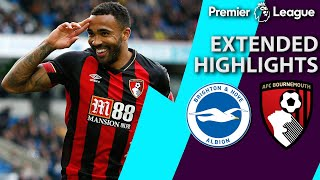 Brighton v. Bournemouth | PREMIER LEAGUE EXTENDED HIGHLIGHTS | 4/13/19 | NBC Sports