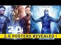 2.0: Akshay Kumar and Rajinikanth character posters look promising