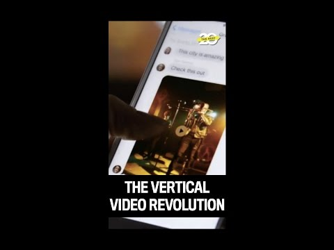 Does Vertical Video Mean the End of Widescreen Movies?
