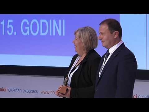 11  konvencija hrvatskih izvoznika 2016 Dodjela nagrada Zlatni ključ 1 dio