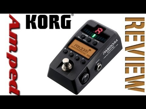 Korg Pandora Stomp Multi-Effect Processor / Tuner