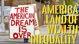 👉America Land of Wealth Inequality and Shrinking Middle Class