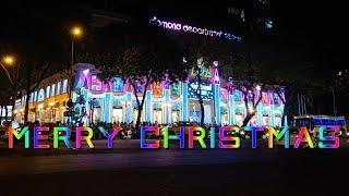 Dạo đường Đồng Khởi đến Nhà Thờ Đức Bà xem Sài Gòn đón Giáng Sinh 2018 | Saigon Today