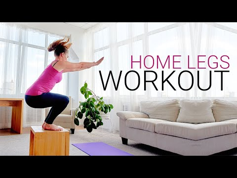 HOME LEGS WORKOUT (Box Burn Challenge!)